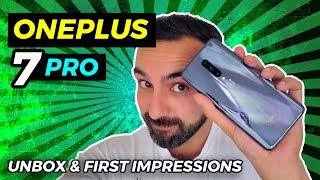 Oneplus 7 Pro Grey Unboxing