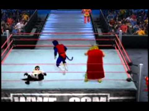 30 Man Superhero CAW Royal Rumble: SvR 2011