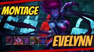 D BEST EVELYNN MONTAGE [NEW RENGAR?] - League of Legends