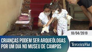 Crianças podem ser arqueólogas por um dia | Jornal Terceira Via