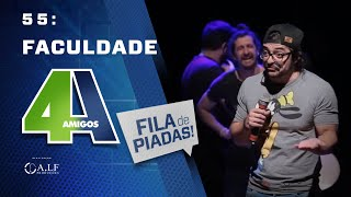 FILA DE PIADAS - FACULDADE - #55