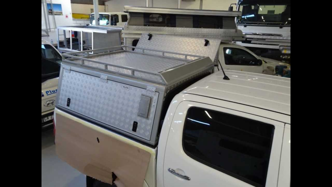 Alu Cab Canopy Pickup Hardtop By Genesis Tracks Youtube