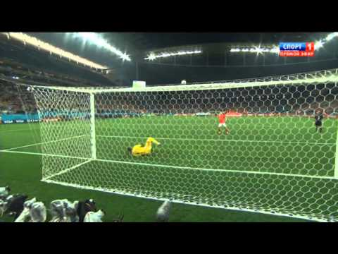 ЧМ 2014 Голландия - Аргентина серия пенальти