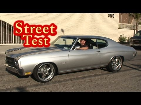 NRE 610 HP 1970 Chevelle Street Test. Veritas Movie Studio.  Media Production.  VMS.