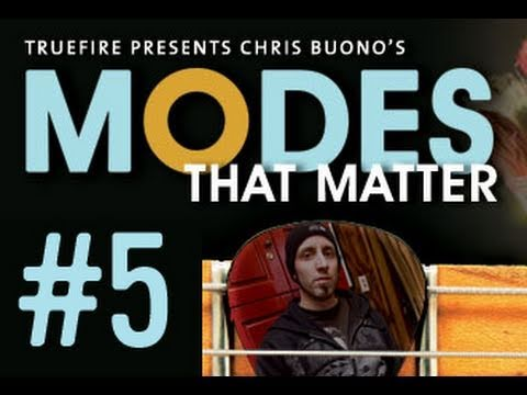 Guitar Lessons & Scales - Modes That Matter - #5 Lydian Fusion