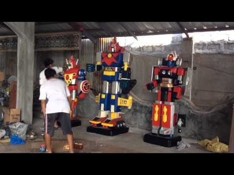 Big Version Mekanda Robo, Voltes V And Daimos video