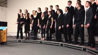 De King is Born Today - Morgan Ames & Donna McAfee by Renaissance High School Chamber Choir