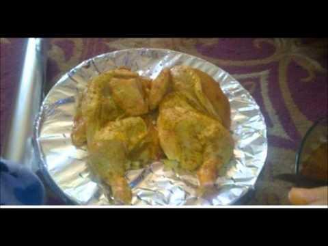 طريقة عمل فراخ مندي بالارز البسمتى Arabic food