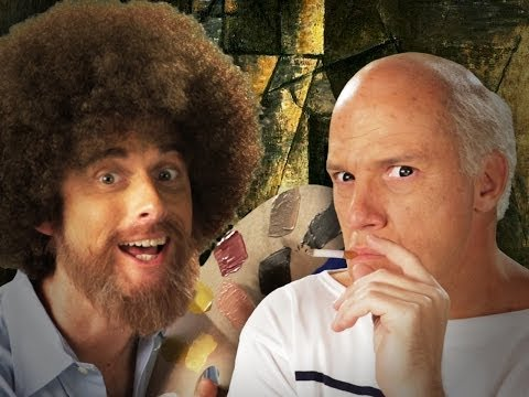 Bob Ross Vs Pablo Picasso - Epic Rap Battles Of History Season 3. video