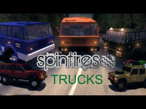 Spin tires MOD - MORE TRUCKS
