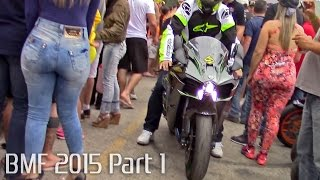Bombinhas Moto Festival 2015 - Part 1 Burnouts, Revs & Loud Exhausts!