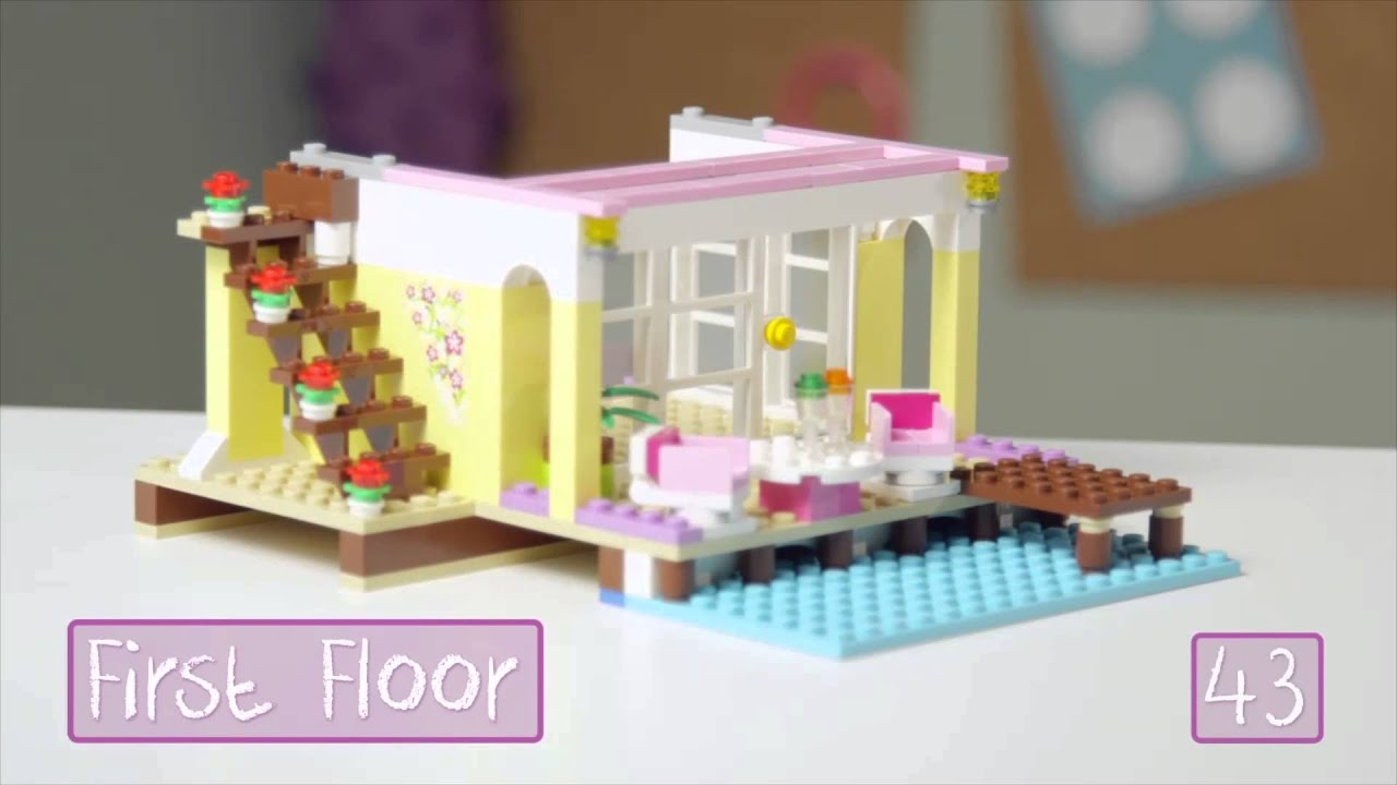 How To Build Lego Friends Beach House
