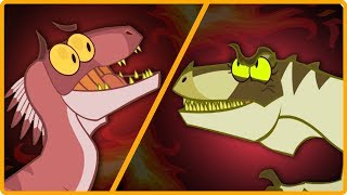 Dinosaur Battle Ground - Episode 3 - VELOCIRAPTOR VS MEGARAPTOR  | I'm A Dinosaur | Epic Fight