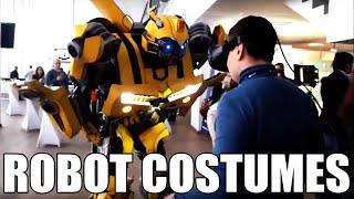 Big transformers adult robot  costumes Bumblebee & Megatron  ANY-ROBOTS.COM