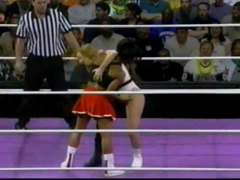 Women Of Wrestling - Unleashed Ppv: Part 1 - Jacklyn Hyde Vs Randi Rah Rah video