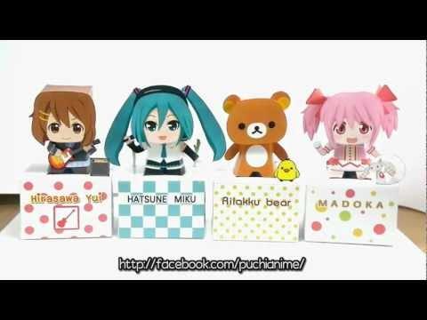 Japan Anime Papercraft