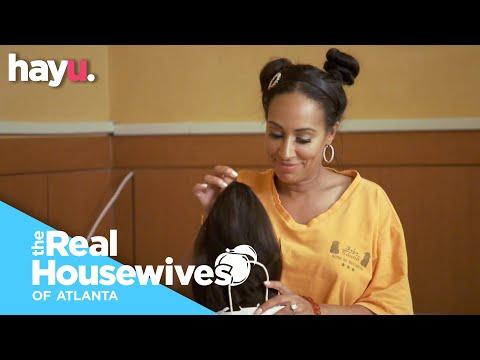 Tanya Exposes Kenya's Wig | Season 12 | Real Housewives of Atlanta