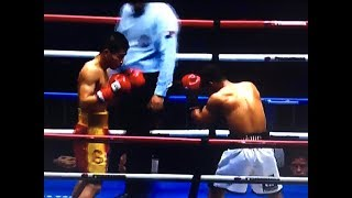 WOW!!! CARLOS CANIZALES vs LU BIN 呂斌 FIGHT REVIEW!! #MatthyssePacquiao (NO FOOTAGE)