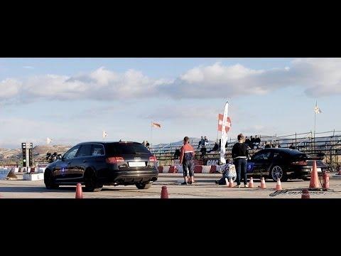 Audi RS6 vs Porsche GT2 997 vs Nissan GT-R