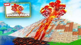 ESCAPE THE VOLCANO Custom Gamemode in Fortnite Battle Royale