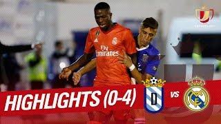 Resumen de UD Melilla vs Real Madrid 0-4