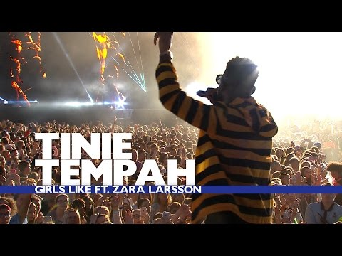 Tinie Tempah feat. Zara Larsson - 'Girls Like' (Live At The Summertime Ball 2016