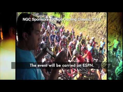 NGC sponsors tobago cycling classic 2012