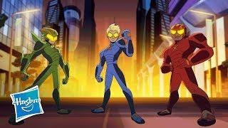 Netflix & Hasbro Studios Present ?Stretch Armstrong & the Flex Fighters? - Teaser Trailer