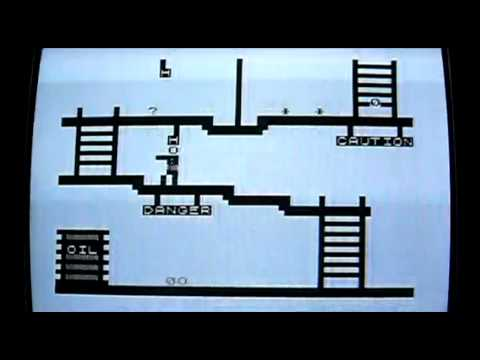 Crazy Kong on Sinclair ZX81 (Sinclair Timex 1000). Gameplay & Commentary