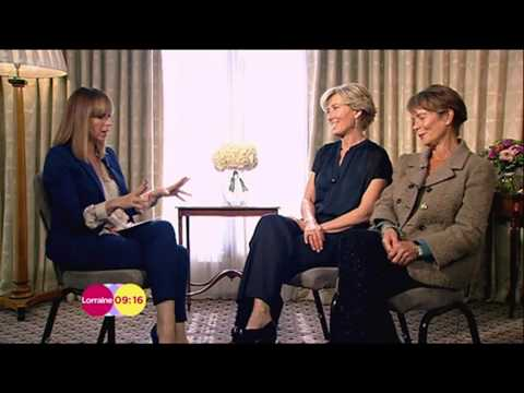 Emma Thompson & Celia Imrie on Lorraine