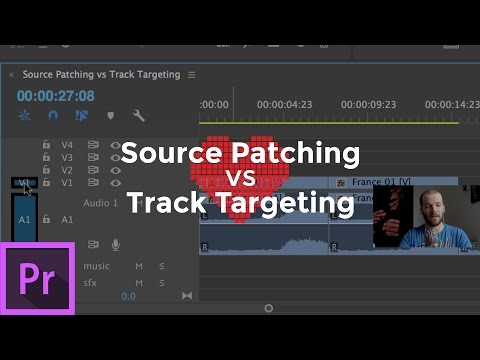 Source Patching vs Track Targeting