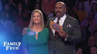 BRUTAL Fast Money | Family Feud