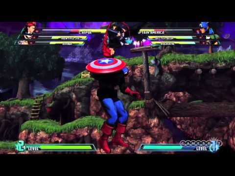 Marvel vs. Capcom 3: Fate of Two Worlds - C. Viper Character Reveal