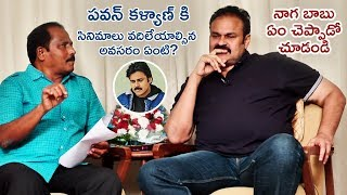 Naga Babu SUPERB Reply about Pawan Kalyan | Naga Babu Interview | Pawan Kalyan | Telugu FilmNagar
