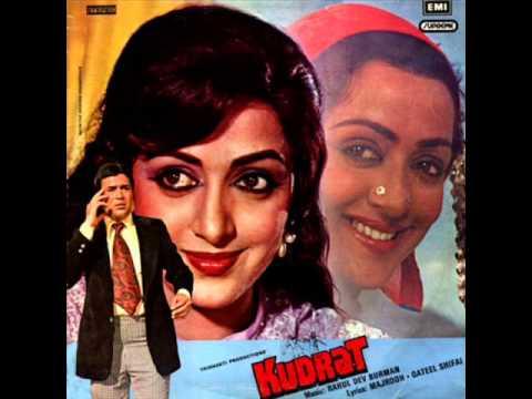 Lata Mangeshkar - Tune O Rangile Kaise Jadu Kiya (1981 Kudrat...