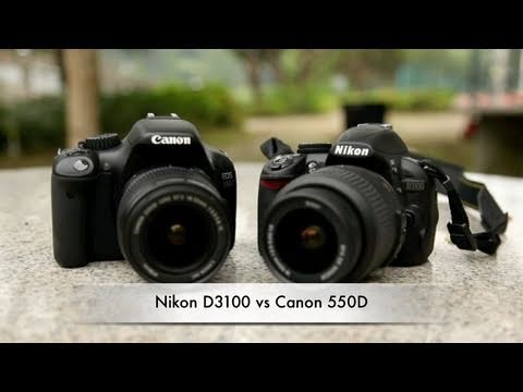 Canon 550D vs Nikon D3100