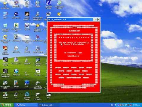 Borrar el sistema operativo del Blackberry