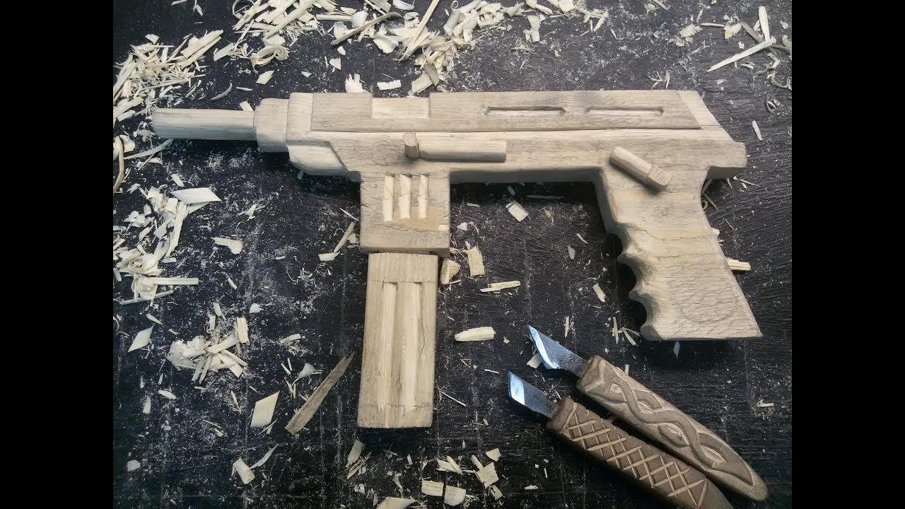 Как сделать оружие из дерева своими руками