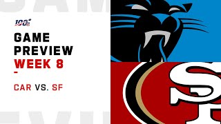Carolina Panthers vs San Francisco 49ers Week 8 NFL Game Preview