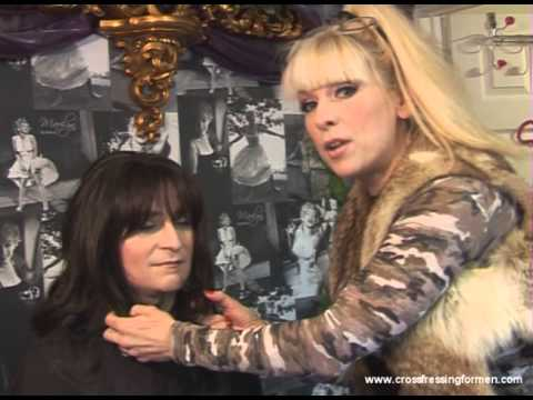 Cross Dressing For Men Presents Wig Application For T Girls, Trannies And Transgenders