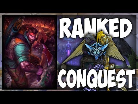 Smite: Masters Ranked Conquest Grind #11 - Ullr ADC