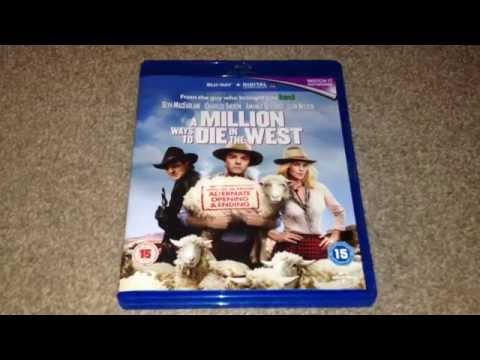 A million ways to die in the west Blu-Ray unboxing