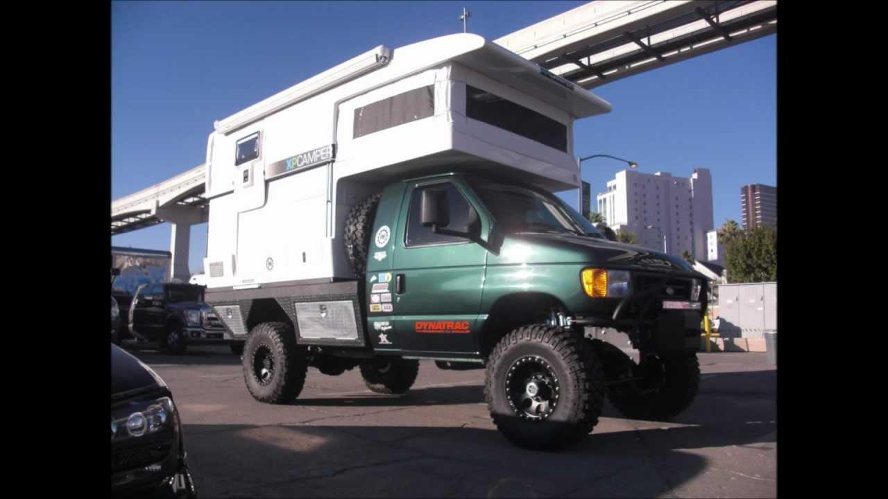 SEMA: Ford 4x4 XP Camper - YouTube