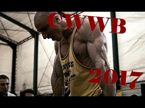 Czech Weighted Workout Battle 2017 (CWWB 2017)