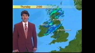 BBC Weather Boxing Day 1996 with John Kettley: Snow on the way