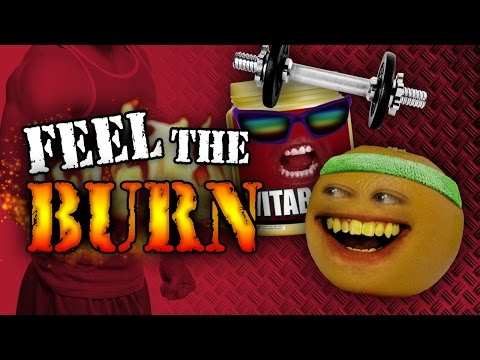 Annoying Orange - Feel the Burn (ft. Chester See)