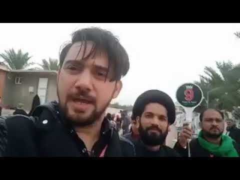 Farhan Ali Waris 2019 Ayyam e Fatima s.a Karbala