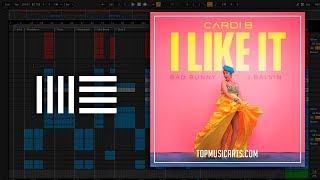 Cardi B, Bad Bunny & J Balvin - I Like It Ableton Remake (Hip-Hop Template)
