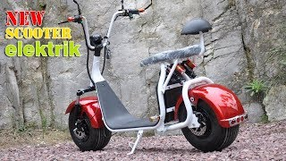 new big scooter Electrik 1000 watt 12 A - mini motor