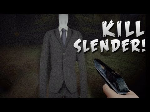 How To: KILL SLENDER MAN! - Slender Woods - Part 2